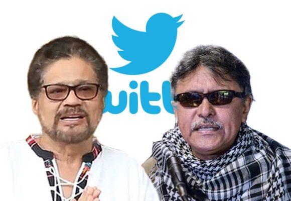 Mano dura de Twitter llega a Colombia: le cierran la cuenta a Márquez y Santrich