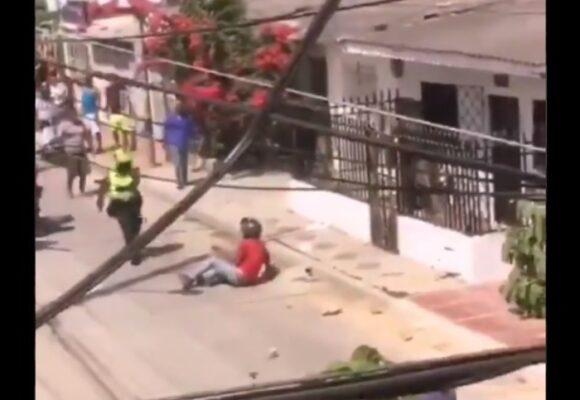 Video | Violenta linchada a ladrón en Soledad