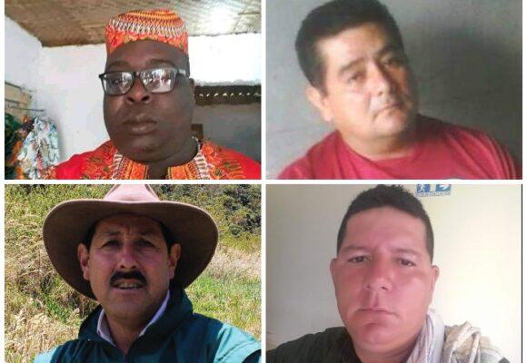 Sangriento inicio de año: 10 líderes asesinados y 3 masacres