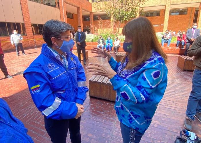 La arrinconada de María Jimena Duzan a Claudia López
