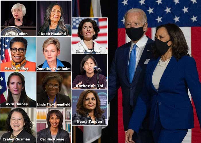 Las poderosas mujeres de Biden