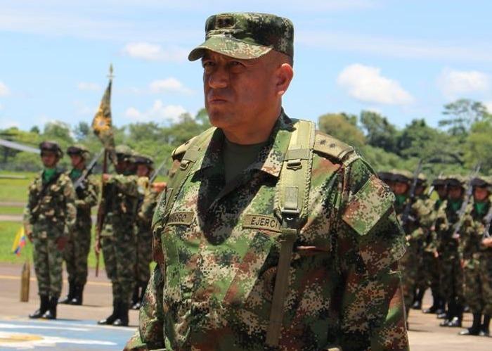 Comandante de las Fuerzas Militares de Colombia, general Luis Fernando Navarro Jiménez