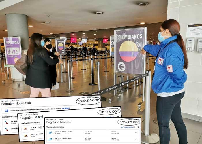 Los gangazos en tiquetes aéreos que trajo la pandemia a Colombia