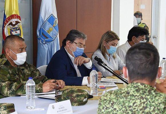 La última reunión de Carlos Holmes en Santa Marta generó polémica