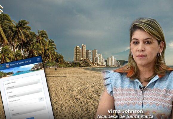 Playas con aforo, clave en control de COVID en Santa Marta