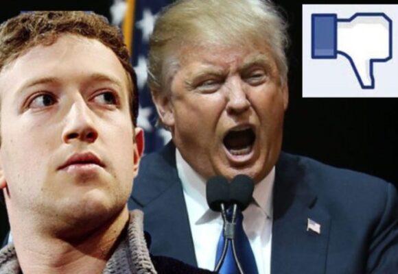 Mark Zuckerberg suspende las cuentas de Facebook e Instagram de Trump