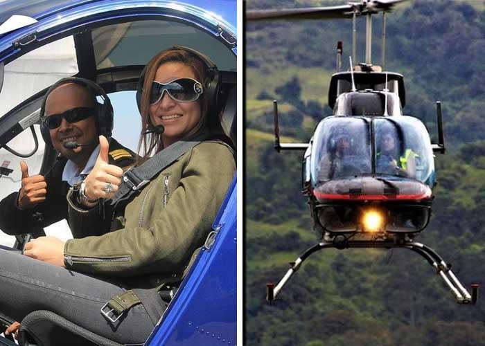 Cinco empresas se pelean el negocio de volar en helicóptero en Colombia