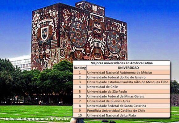 Universidades colombianas no entraron al top 10 de América Latina