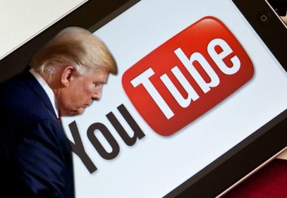 También YouTube suspende a Trump