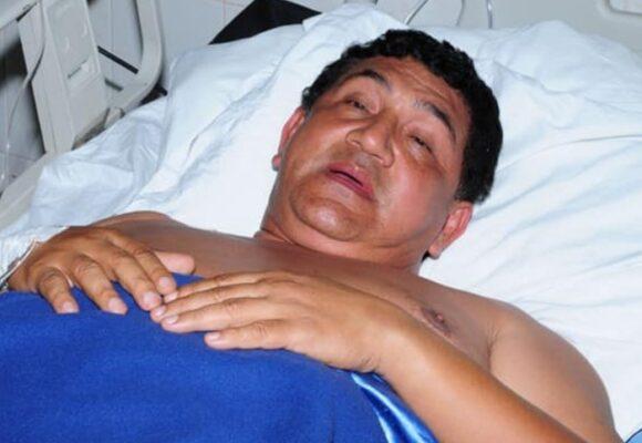 Poncho Zuleta está hospitalizado luego de caerse de un caballo