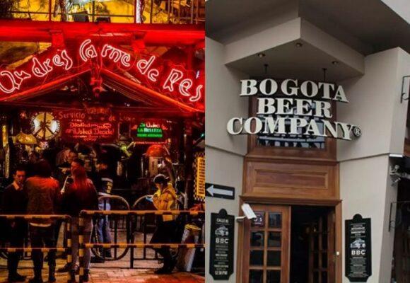 ¿Por qué cierran todos los bares menos Andrés Carne de Res y BBC? ¿Tienen corona?