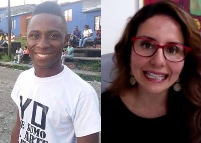 Tremenda callada de boca le pegó líder de Buenaventura a periodista