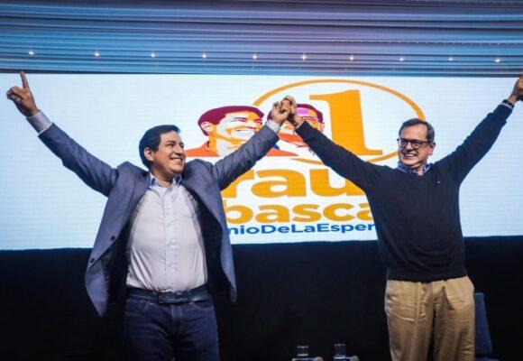 Andrés Arauz canta victoria en primera vuelta de las presidenciales en Ecuador