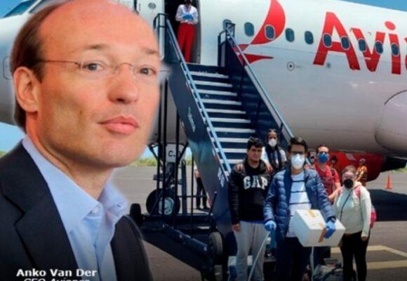 Anko Van Der Weff forzado a suspender 7 rutas internacionales