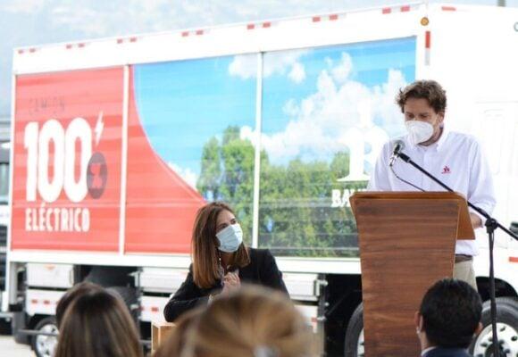 El CEO de Bavaria decidido a repartir cervezas en camiones eléctricos