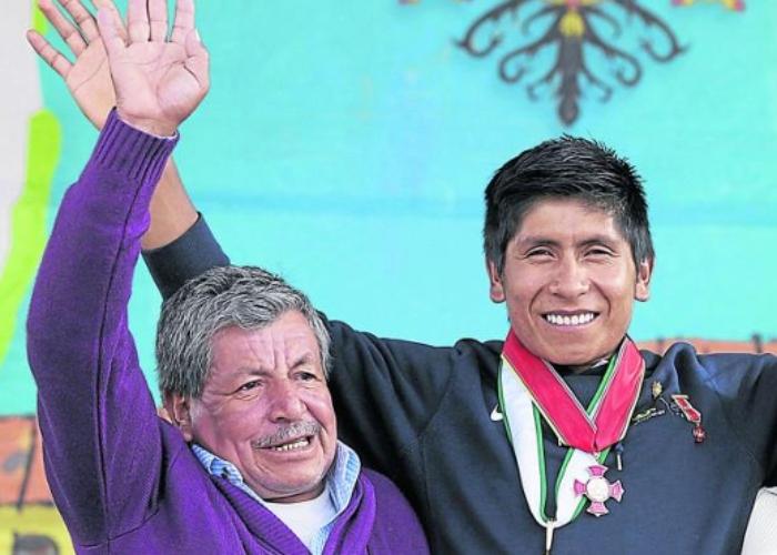 Padre de Nairo Quintana, hospitalizado por COVID