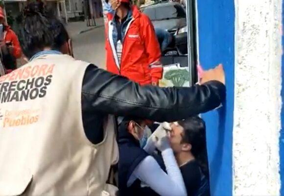 No parará la barbarie policial: casi matan a joven que protestaba pacíficamente
