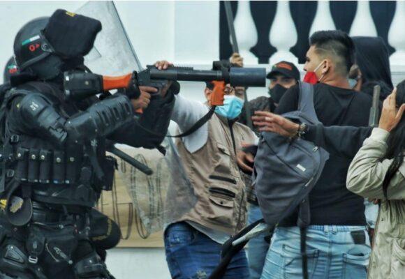 La foto que refleja la brutalidad del ESMAD