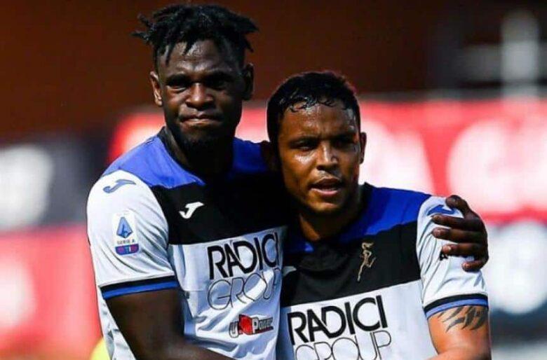 Muriel y Zapata van a hacer echar al calvo del Zidane