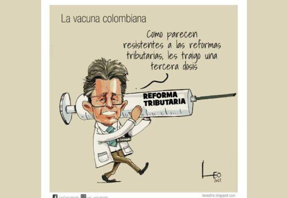 Caricatura: La vacuna colombiana