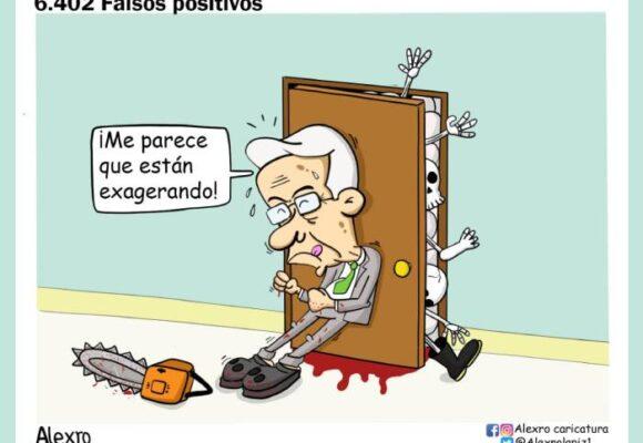 Caricatura: 6402 falsos positivos