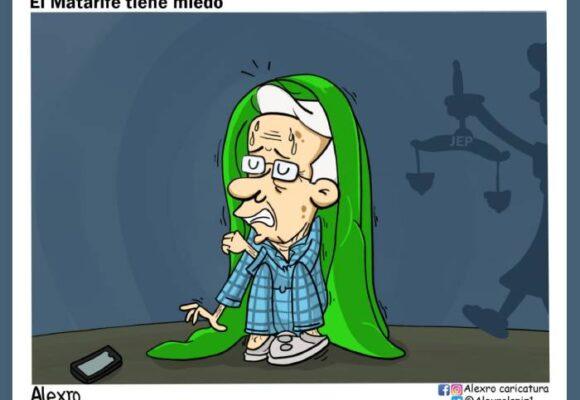 Caricatura: Uribe tiene miedo