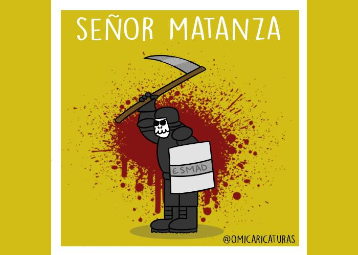 Caricatura: Señor Matanza