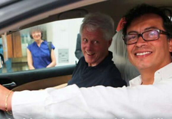 Cuando Petro fue el chofer de Bill Clinton
