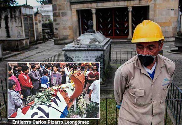 El sepulturero de muchos de los líderes políticos de Colombia