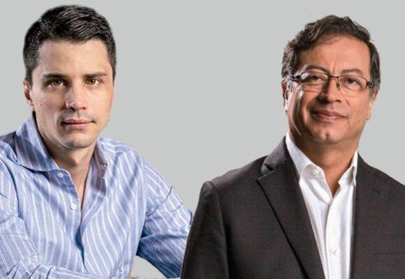 Gustavo Petro y Tomás Uribe: vibrante mano a mano en Semana