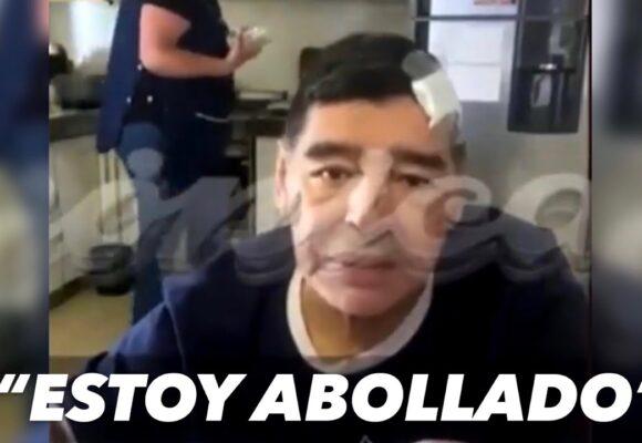 Tremendo: el último video de Maradona antes de morir