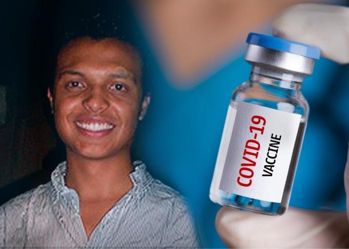 Abuelo muerto de Luis Andrés Colmenares, en primera línea para recibir vacuna