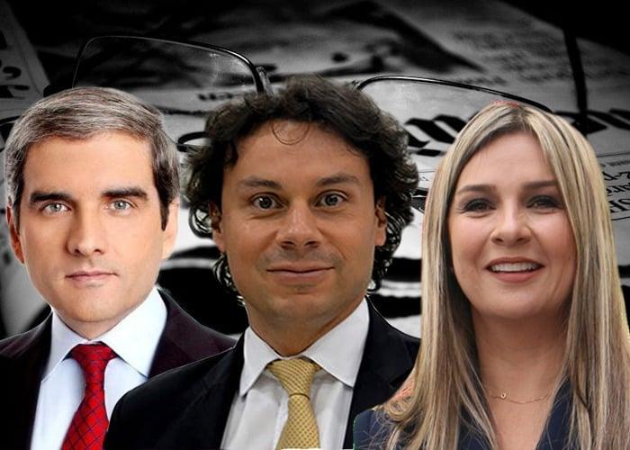 Los periodistas más insultados por los colombianos