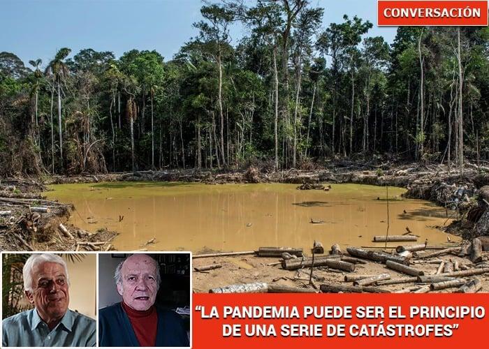 """""""Lo ambiental sigue siendo puro bla bla para nuestros gobiernos"""": Manuel Rodríguez"""