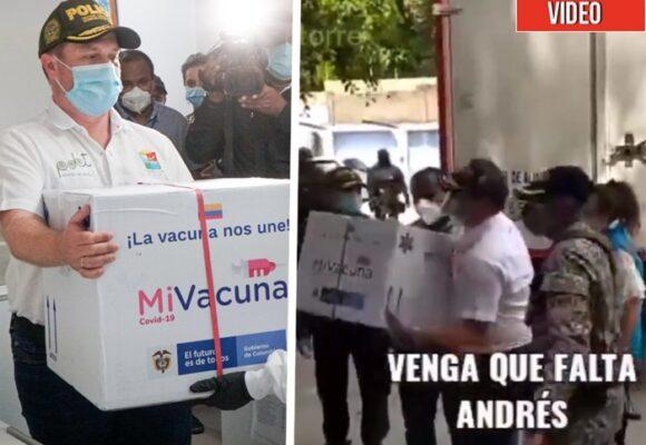 El infame show que montaron en Sincelejo con las vacunas