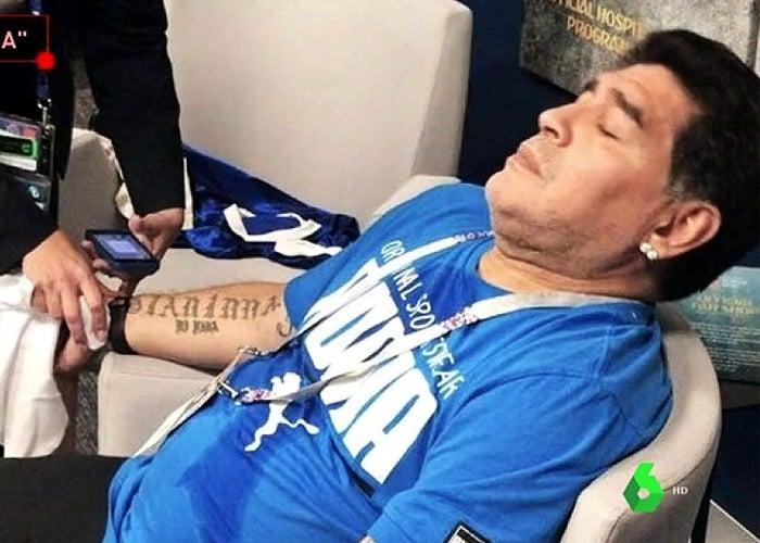 A Maradona lo drogaban en la noche para que no molestara