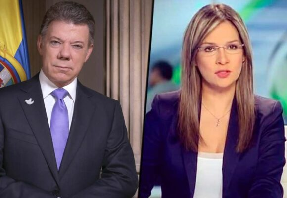 Varillazos de Vicky Dávila a Juan Manuel Santos