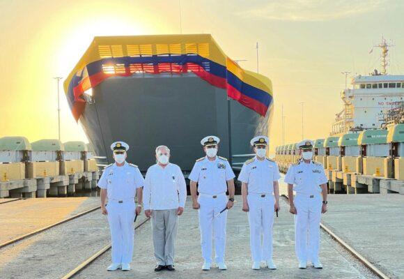 Gran barco made in Colombia se estrena en la Armada Nacional