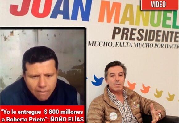 Ñoño Elias prendió el ventilador contra campaña Santos