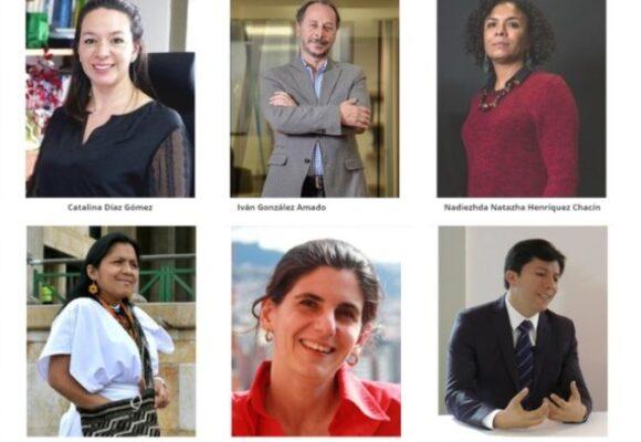 Los seis magistrados de la JEP que pasaron al banquillo a las Farc por el delito de secuestro