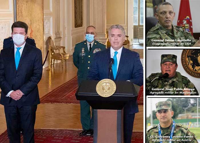 Los premios gordos para los generales escogidos por el Presidente