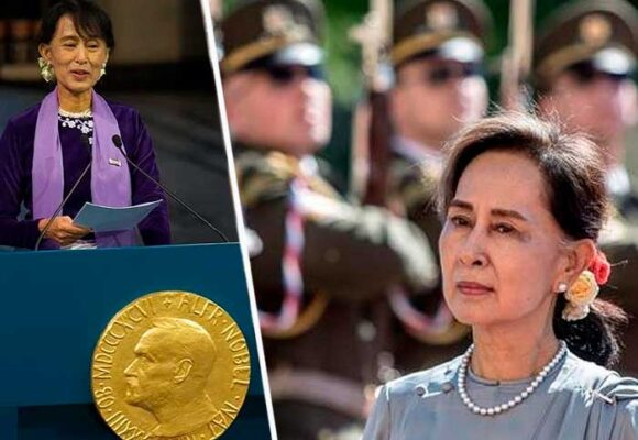 Aung San Suu Kyi, la premio nobel de paz que se arrodilló a la dictadura