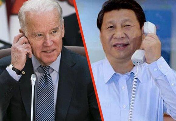 Joe Biden habla por teléfono con su homólogo chino Xi Jinping