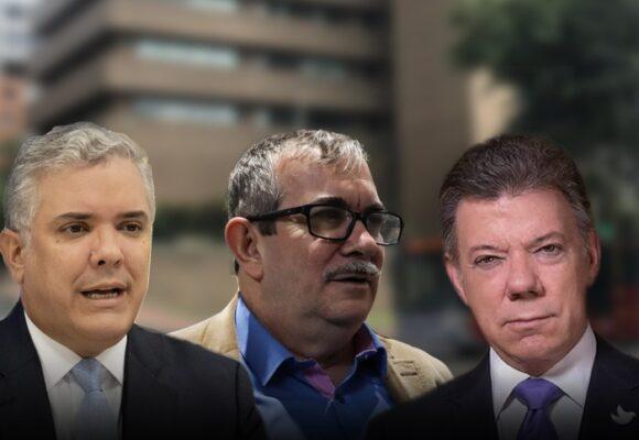 Timochenko le pide a Santos que se reúna con Duque para salvar el acuerdo de paz