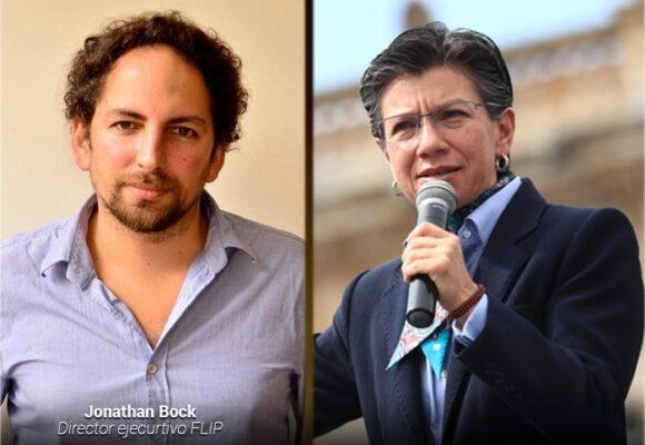 Quejas ante la FLIP contra Claudia López por maltrato a periodistas