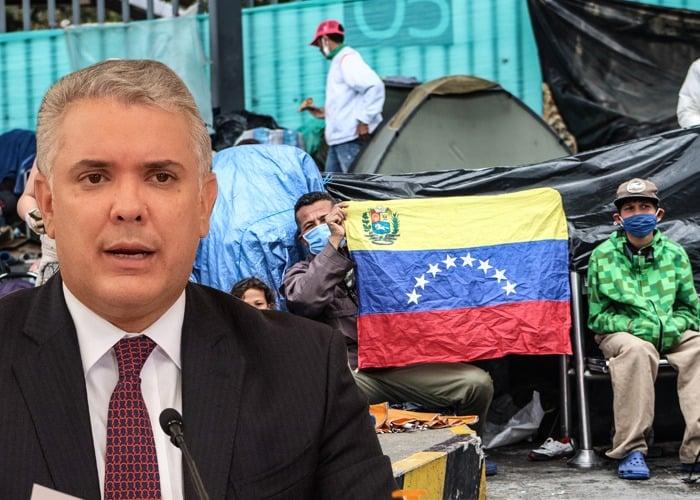 Duque le abre la puerta a más de 966 mil venezolanos
