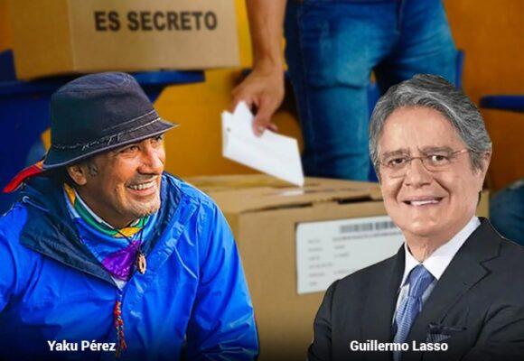 Sin definirse quién va a segunda vuelta en Ecuador
