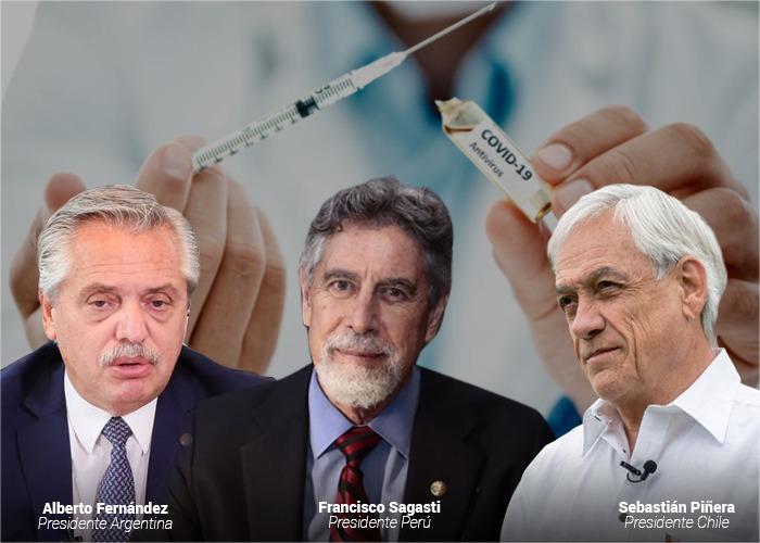 Tres países latinoamericanos salpicados por escándalos en la vacunación contra el Covid-19