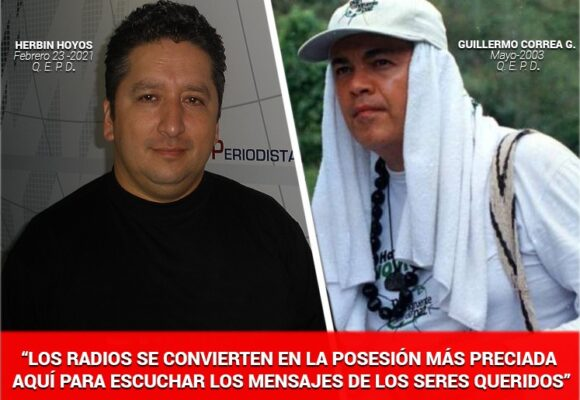 Familiares de Guillermo Gaviria reconocen el valor de Herbin Hoyos