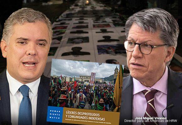 El gobierno colombiano no ha protegido a los líderes sociales: Informe HRW
